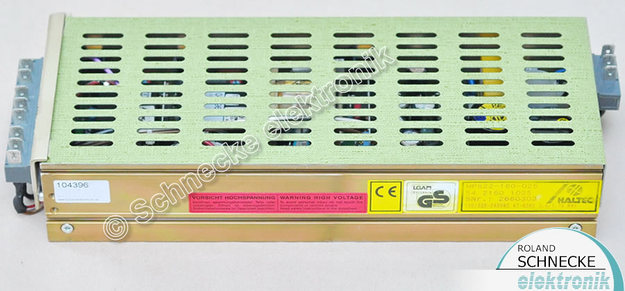 HALTEC Powersupply MPS22-160-025