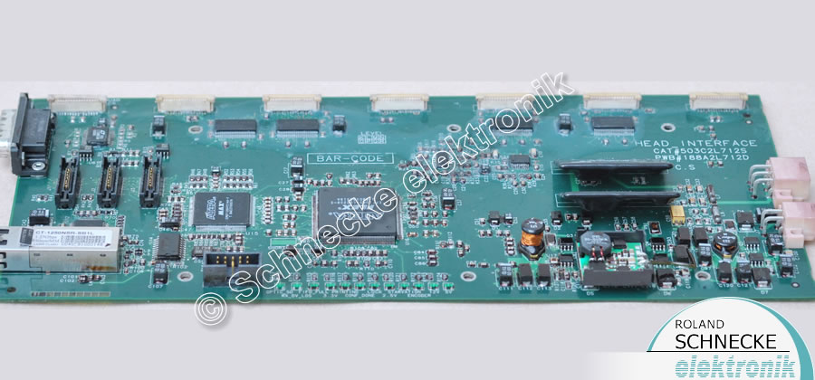 Reggiani P503C2L712 Head Interface PCB für Druckmaschine